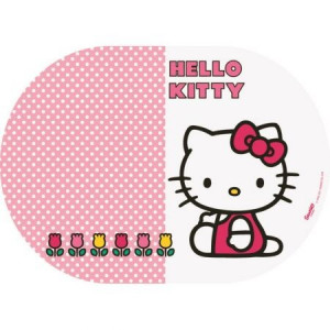 Suport Farfurii Oval Bbs, Hello Kitty, 35X25cm