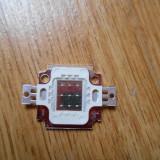 LED 10W albastru 900mA 9-12V 460-463NM