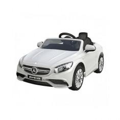 Masinuta electrica Mercedes Benz AMG White Chipolino - Masinuta electrica copii