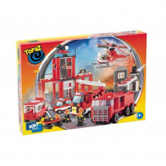 Set de construit-Cazarma pompierilor-1065 piese - LEGO Architecture