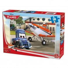 Puzzle Disney Planes 50 piese - Avion de jucarie