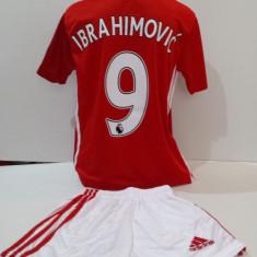 Echipamente sportive fotbal copii Manchester United-Ibrahimovic model nou - Set echipament fotbal, Marime: Alta