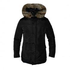 Geaca Zara Man Imblanita Model Gros De Iarna Cod Produs D698 - Geaca barbati, Marime: M, L, XL, XXL, Culoare: Negru, Piele