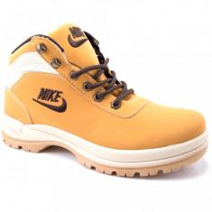 Bocanci Nike Mandara Bej piele impermeabila marimi 40 - 44 - Bocanci barbati Nike, Marime: 41, 42, 43, Piele sintetica