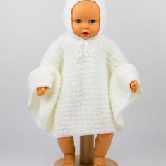 Pelerina tricotata crem