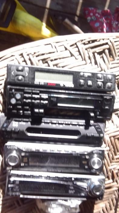 Fete radio cas auto CD-Playere ,Pioneer.JVC, Kenwood,etc