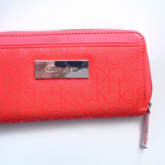 Portofel Calvin Klein femei, 100% Autentic, NOU - Portofel Dama Calvin Klein, Culoare: Rosu