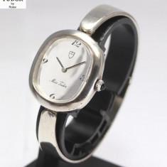 TUDOR by Rolex, Colectie Miss Tudor, Ceas Argint Dama Mecanic Original - Ceas dama Rolex, Casual, Mecanic-Manual, Analog
