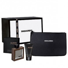 Dsquared2 He Wood Rocky Mountain Wood Set 50+100+cb pentru barbati - Parfum barbati Dsquared2, Apa de toaleta, 50 ml