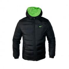 Geaca Nike AIR MAX Cristiano Ronaldo Model Sport Cod Produs D710 - Geaca barbati, Marime: S, M, L, XL, XXL, Culoare: Negru, Microfibra
