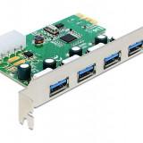 CONTROLER PCI-E CARD>4X USB 3.0 DELOCK 89363