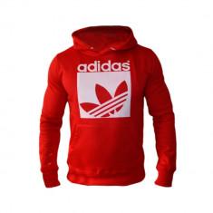 Hanorac Adidas Originals Cod Produs G800 - Hanorac barbati, Marime: XL, XXL, Culoare: Rosu, Bumbac