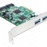 CONTROLER PCI-E CARD>2X USB 3.0 2X SATA 6GB/S DELOCK 89359