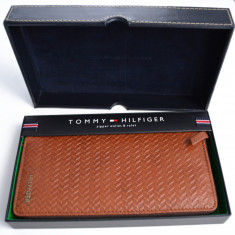Portofel Tommy Hilfiger Original, din piele - Portofel Barbati