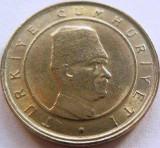 Moneda 100 Bin Lira - TURCIA, anul 2002 *cod 2671 a.UNC, Europa