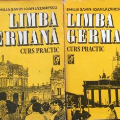 LIMBA GERMANA - CURS PRACTIC - Emilia Savin, Ioan Lazarescu (2 volume) - Curs Limba Germana