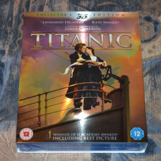Film - Titanic - Collector's Edition 3D + 2D [4 Discuri Blu-Ray], Import, Romana - Film Colectie Altele, BLU RAY 3D