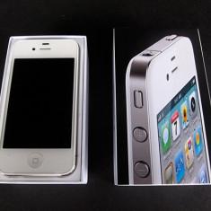 iPhone 4 Apple neverlocked alb la cutie, 8GB, Neblocat