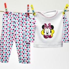 Pijama baby cu buline