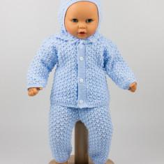 Costum tricotat trei piese