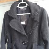 Palton/pardesiu dama marimea 40, achizitionat de pe Amazon.uk - Palton dama, Culoare: Gri