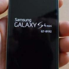 Samsung Galaxy S4 Mini Dual SIM - Telefon mobil Samsung Galaxy S4 Mini, Negru, Neblocat