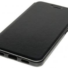Husa tip carte cu stand neagra pentru telefon Allview X3 Soul Plus