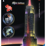 Ravensburger Ravensburger Puzzle 3D Empire State Building - lumineaza noaptea, 216 piese