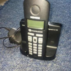 Telefon wireless Siemens Gigaset al140 - Telefon mobil Siemens, Negru, Nu se aplica, Neblocat, Fara procesor