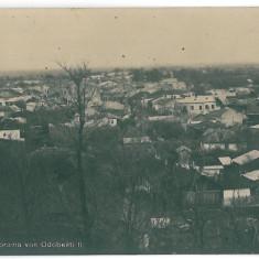 960 - Vrancea, ODOBESTI - old postcard, CENSOR - used - 1917 - Carte Postala Moldova 1904-1918, Circulata, Printata