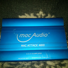 Amplificator auto Mac Audio MAC ATTACK 4081