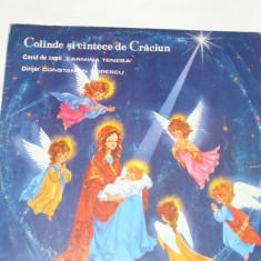 Disc vinil - Colinde si cantece de Craciun - Muzica Sarbatori