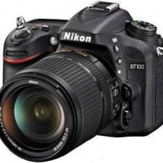 Kit aparat foto digital Nikon D7100 (cu obiectiv de 18-140mm VR) - DSLR Nikon, Kit (cu obiectiv), Peste 16 Mpx, Full HD