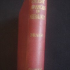 W. RUSSELL BRAIN - RECENT ADVANCES IN NEUROLOGY * limba engleza - Carte Neurologie