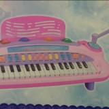 Orga copii cu microfon, MP3 si incarcator - Instrumente muzicale copii
