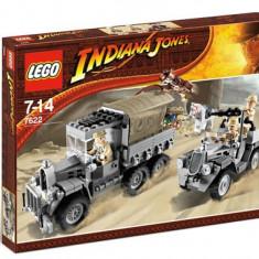 LEGO - Indiana Jones - Race for the Stolen Treasure #7622, 10-14 ani