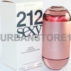 Parfum Tester Carolina Herrera 212 Sexy + LIVRARE GRATUITA! - Parfum femeie Carolina Herrera, Apa de parfum, 100 ml, Oriental
