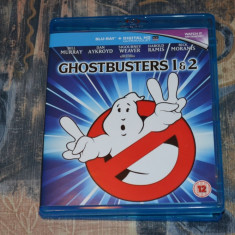 Film - Ghostbusters I & II [2 Filme - 2 Discuri Blu-Ray], Import UK - Film comedie sony pictures, Romana
