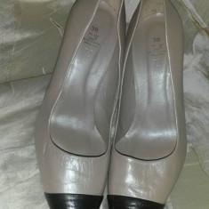 Pantofi ZARA, 37 - Pantof dama Zara, Culoare: Bej