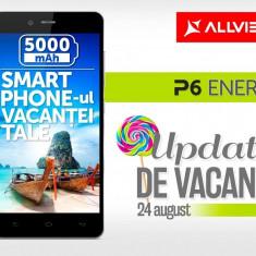 Smartphone Allwiew P 6 Energy ca Nou in Garantie - Telefon Allview, Negru, Neblocat