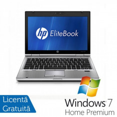 Laptop HP EliteBook 2560p, Intel Core i5-2520M 2.5Ghz, 4GB RAM, 320GB HDD, DVD-RW + Windows 7 Home Premium