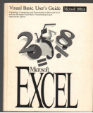 (C7097) MICROSOFT EXCEL.  VISUAL BASIC, USER'S GUIDE, VERSIUNEA 5.0, TEXT ENGLEZ