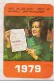 bnk cld Calendar de buzunar 1979 - Loto Pronosport