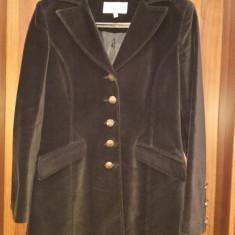 Palton pardesiu trench negru primavara toamna - Trench dama, Marime: 40