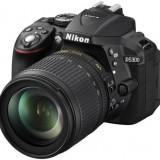 Kit aparat foto digital Nikon D5300 (cu obiectiv 18-105mm DX VR ), negru