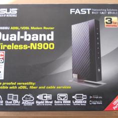 Router wireless ASUS Gigabit DSL-N66U Dual Band, NOU., Port USB, Porturi LAN: 4, Porturi WAN: 1
