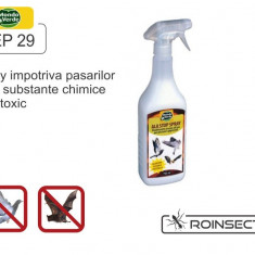 Spray impotriva pasarilor (750 ml) - REP 29 - Solutie antidaunatori