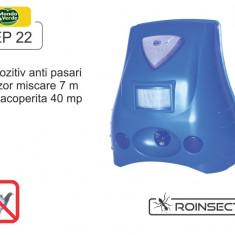 Aparat anti-pasari cu senzor de miscare si lampa stroboscopica - REP 22