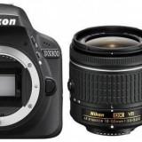 Nikon Aparat foto Nikon D3300 (AF-P 18-55mm VR + 55-200mm VR), body