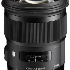 Obiectiv Sigma Canon 50/1.4 DG HSM Art - Obiectiv DSLR